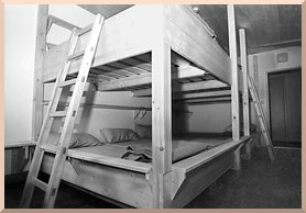 Picture: wide angle lens view of a dormitory